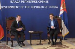 Медведев: Посета потврда добрих односа Србије и Русије 1