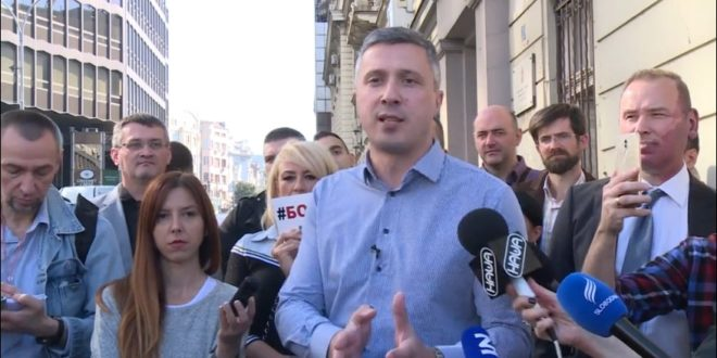 Обрадовић: Пљачкање новца са рачуна Двери спроводе БИА и суд