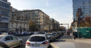Београд: Општи колапс у центру града због протеста таксиста 4