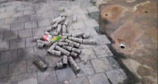 Коцке које су поставили на Тргу Републике поново скидали да би направили скарабуџену дренажу (видео) 8