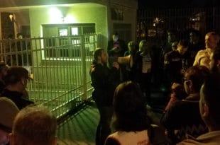 """Одржан протест подршке ухапшеном раднику из """"Kрушика"""""""