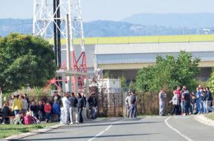 """Целодневни штрајк у ваљевском """"Горењу"""""""