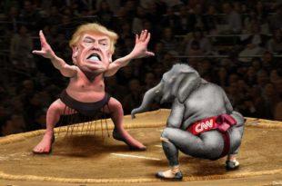 """Трамп објавио да ће САД основати телевизију која ће у свету потиснути """"лажљиви CNN"""""""