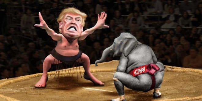 """Трамп објавио да ће САД основати телевизију која ће у свету потиснути """"лажљиви CNN"""" 1"""