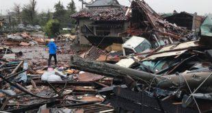 Јапан: Под ударима тајфуна Хагибис погинуле 23 особе, влада распоређује војску (видео)