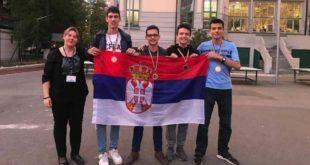 Злато и три бронзе за ученике Математичке гимназије на такмичењу у Букурешту 12