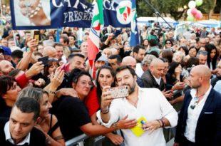 ДЕСНИЧАРИ РАСТУРИЛИ ЕУ СТРАНKЕ: Салвини однео 58% гласова на изборима у региону Умбрија!