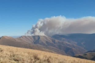 Велики пожар на Старој планини (видео)