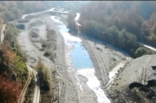 Река Тара засута бетоном и шљунком, мештани најављују тужбу против кинеске компаније