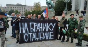 Спремни на све! Ветерани Србије одлучно протестују испред Скупштине! (видео) 11