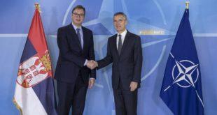 Столтенберг и Вучић: Заједничке војне вежбе Србије и НАТО само су врх леденог брега наше сарадње 12