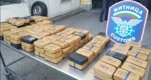 Бугарска полиција запленила скоро 100 кг хероина (видео)
