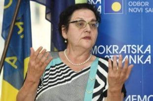 Демократска странка као кадровски пул напредних згубидана: Гордана Чомић министарка за људска права