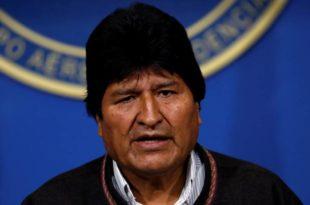 Моралес отишао у Мексико који му је одобрио азил