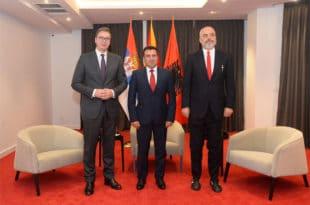 У Охриду Вучић, Рама и Заев договорили наставак стварања велике Албаније