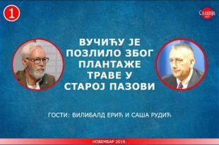 Вилибалд Ерић и Саша Рудић - Вучићу је позлило због плантаже траве у Пазови (видео)