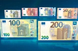 Нови еври у оптицају: Кристин Лагард потписла новчанице и пустила их у промет