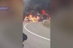 Оружана пљачка у Лепосавићу: Разбојници запуцали, троје повређених (видео)