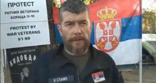 Поводом последњих провокација и посета непознатих лица у и око кампа протеста војних ветерана (видео)