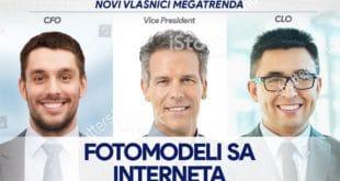Наводни купци Мегатренда - не постоје, реч је о моделима са интернета