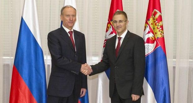 Патрушев и Стефановић договорили два споразума области безбедности