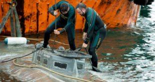 У подморници коју је Шпанија запленила налази се три тоне кокаина