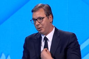 ВУЧИЋ: Mигранти ће долазити у Србију кад успе унија са Албанијом! (видео)