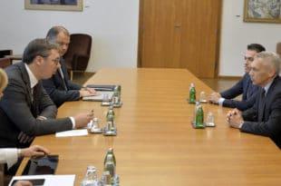 """Вучић оптужио Русе за снимак: Питао сам руског амбасадора """"зашто сте нам ово приредили""""!"""
