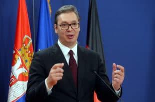 Вучић: Србија ће великом сумом новца помоћи Албанији