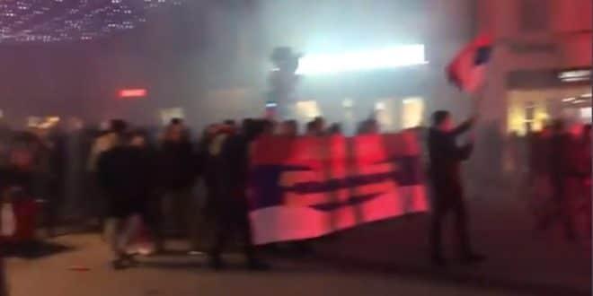 Нови Сад, Сремски Карловци и Лесковац на улици у знак подршке Србима Црне Горе (фото, видео)