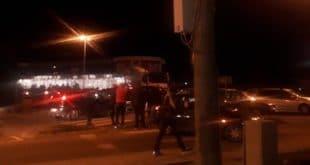 """Подгорица: Блокиран саобраћај и на кружном току према Аеродрому """"Голубовци"""" (видео)"""
