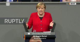МЕРKЕЛ: Морамо ограничити слободу говора и мишљења, због безбедности! (видео)