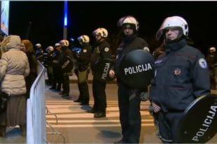 Подгорица: Срби широм Црне Горе спремни на све! (видео)