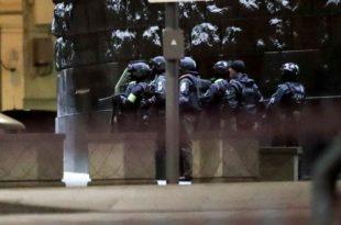 У пуцњави у Москви убијен припадник ФСБ-а, нападач ликвидиран (видео)