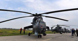 Русија пре времена Србији испоручила четири јуришна хеликоптера МИ-35 (видео)