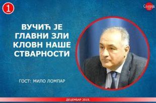 Мило Ломпар: Режими у Београду и Подгорици делују у најдубљој сагласности (видео)