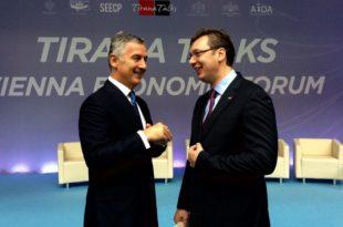 Перфидна подршка Ђукановићу из Србије!