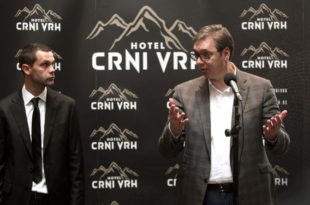 Држава доделила 1,57 милиона евра компанији брата Милоша Теодосића за изградњу хотела на Дивчибарама