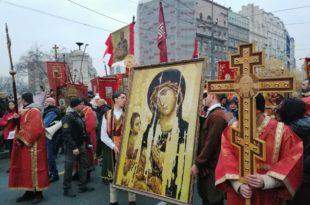 Време је Божје правде: Београд брани српске светиње у Црној Гори (видео, фото)