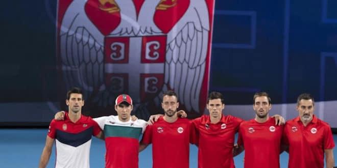 Србија освојила АТП куп (видео)