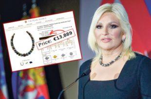 Зорана Михајловић носи огрлицу од 14.000 евра?!