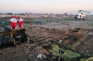 Иран: Срушио се украјински авион са 170 људи, нема преживелих (видео)