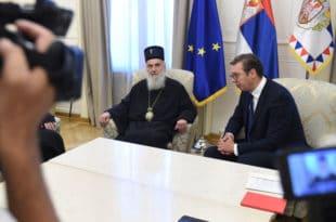 Вучић не одустаје да направи раздор међу Србима Црне Горе и за то чак користи и патријарха Иринеја