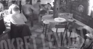 Обреновчани избацили мигранта из кафића, напад на конобаре и ударање главом у сто! (видео)