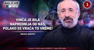 ИНТЕРВЈУ: Драган Јанковић - Винча је била напреднија од нас, полако се враћа то време! (видео)