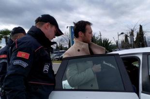 Марко Милачић ухапшен на аеродрому у Подгорици