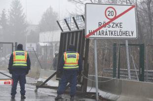 Хоргош 2 поново отворен после инцидента са мигрантима