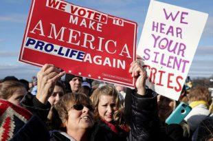Доналд Трамп сутра на маршу против абортуса у Вашингтону