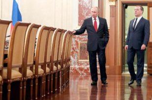 Распуштена руска влада, Путин предложио Медведеву функцију заменика секретара Савета безбедности