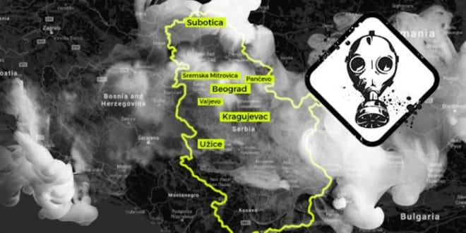 Загађење ваздуха у Србији: Kако да се заштитите